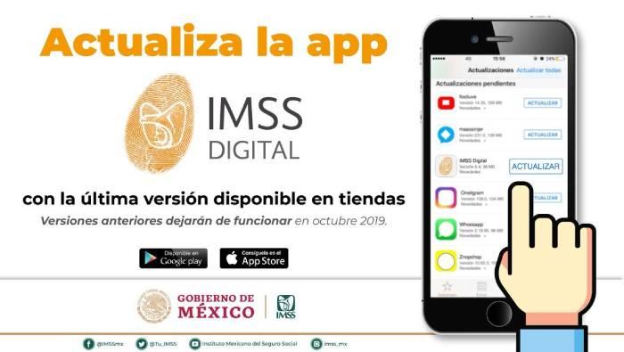 app tarjeton digital imss